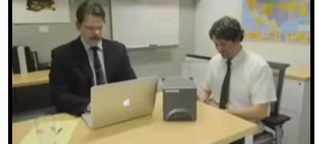 Bewerbungsgespräch mit Lügendetektor.