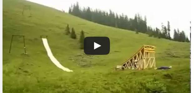 Die schnellste Wasserrutsche der Welt